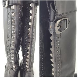 Vince Camuto Bollo Studded Over the Knee Boots 5.5